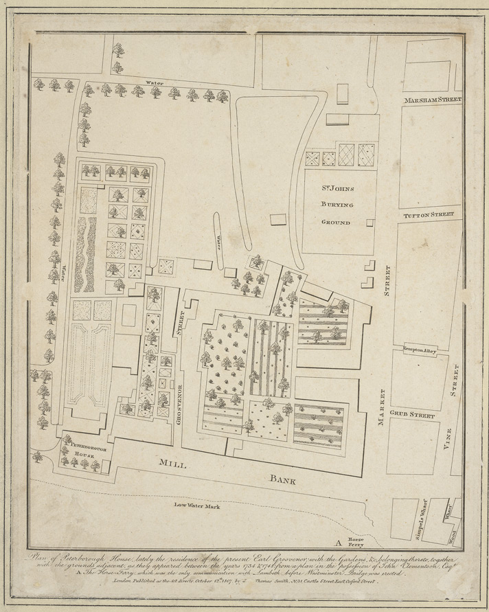 Plan of Peterborough House 12A